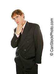 Young Businessman - Thinking it Over
