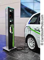 hibrid car - charging of a hibrid car