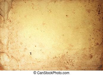 Grunge, Weinlese, Papier, altes, hintergrund