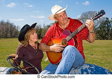 Singing Cowboy - Serenade