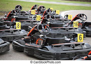 go-kart - The image of go-karts