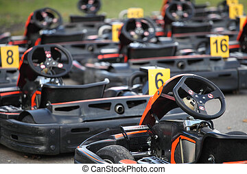 go-kart - The image of go-karts