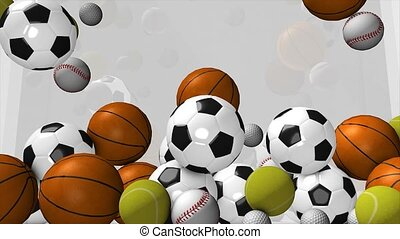 Sports ball - Few type of sport balls filling up spaces...