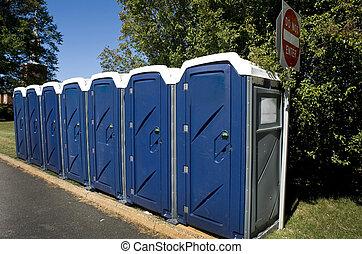 Kings Throne. - Portable Toilet.