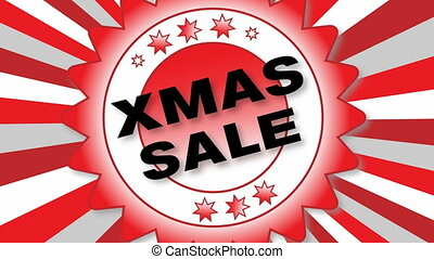 X Mas Sale - animated Button