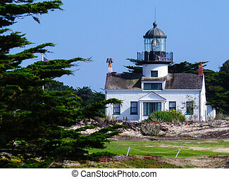 Lighthouse in Pacific Grove,CA