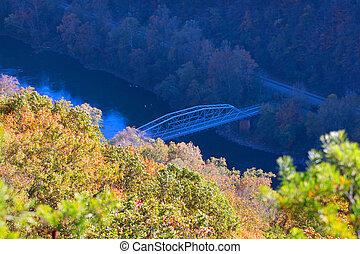Valley in West Virginia