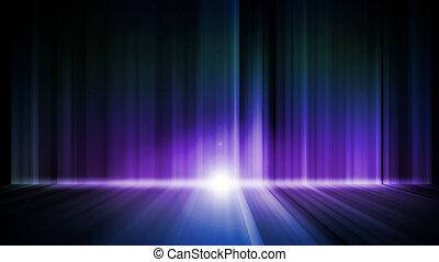 Dark abstract Aurora Wallpaper background