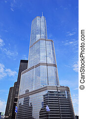 Trump Tower Chicago - CHICAGO, IL - Oct 1: Trump Tower...