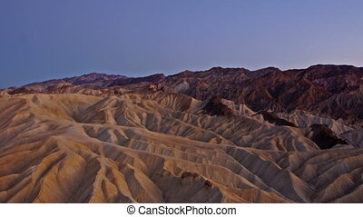 Zabriskie Point - time-lapse