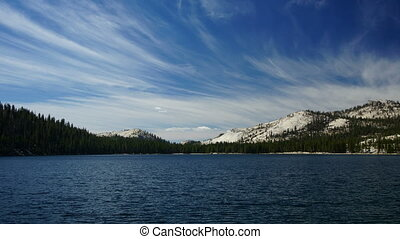 Tenaya Lake, Yosemite - time-lapse
