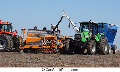 Preparation for corn seeding - Corn seeding in Argentina