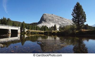 Small river in Yosemite - CA, USA