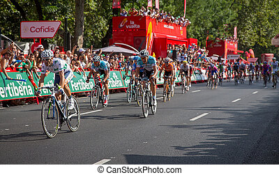Alejandro Valverde - MADRID - SEPTEMBER 9: Spanish Vuelta...