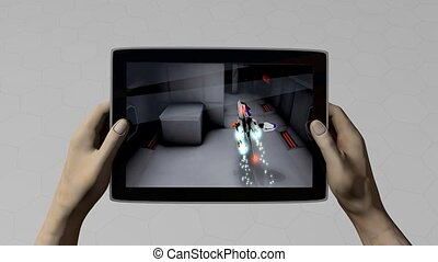 Tablet pc gaming