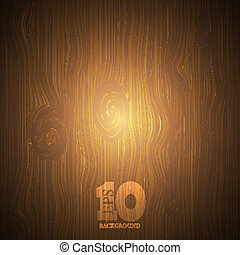 Vector wooden background . Eps10
