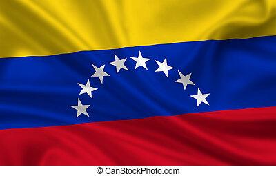 Venezuela - waving flag of venezuela