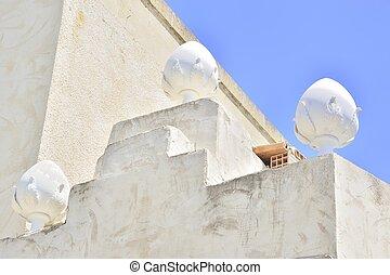 Dettaglio, esterno, Di, edificio
