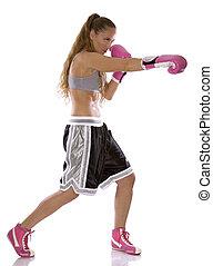 hembra, Boxeador