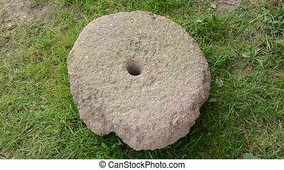 חיטה, צרור, עתיק, millstone
