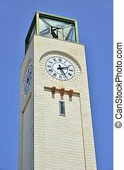 La, torre, dell'orologio