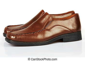 chaussures, moderne, homme