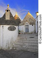 I trulli - Alberobello - BA - Uno scorcio del centro storico...