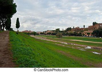 Circus Maximus - old site of the Circus Maximus in Rome
