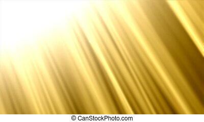 Abstract golden shine