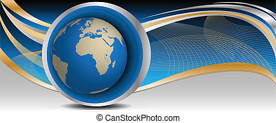 abstract image of earth