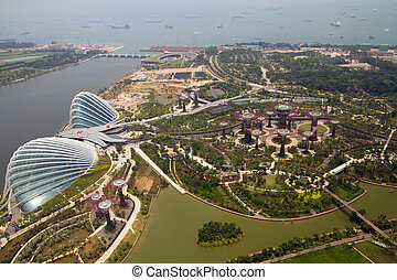 Gardens by the bay, Singapore - Gardens by the bay singapore...