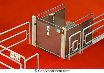 Wheelchair Lift - Equipment for disable people automatic...