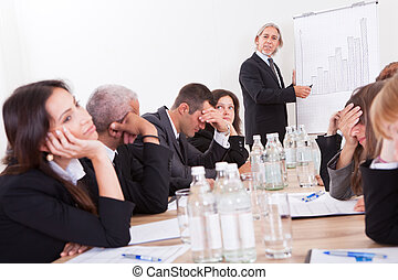 Portrait Of Sad Business Team - Photo Of Sad Business Team...