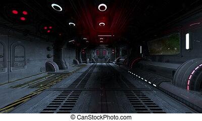 spaceship - inboard of spaceship