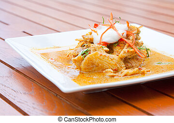 Thai Chicken Red Curry - Gourmet Thai Chicken Red Curry Meal