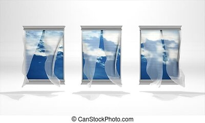 Windows to nature - Conceptual animation, back to nature.