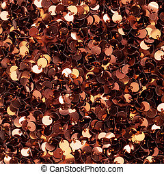 Brown sequins texture - Brown sequins pattern texture...
