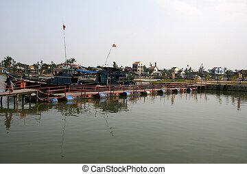 Hoi An, Vietnam - Hoi An City in Central Vietnam