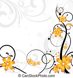 Floral, Bloemen, Ontwerp