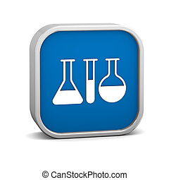Laboratory Sign - Laboratory sign on a white background Part...