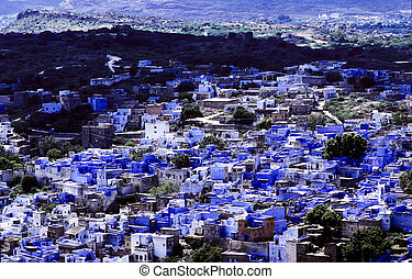 Jodhpur, the blue city in Rajasthan