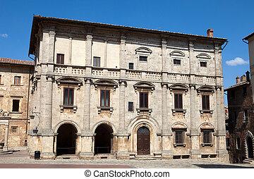 Palazzo Tarugi in Montepulciano. Tuscany, Italy