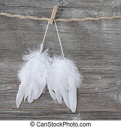 Anioł, skrzydełka