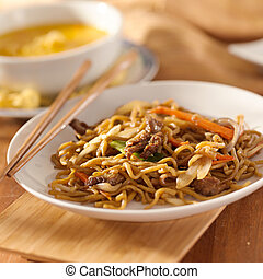 Chinese food - Beef lo mein