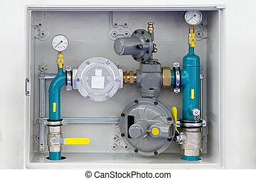 Home gas installation - Home instalation equipment for...