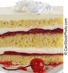 Strawberry  Layered Cake