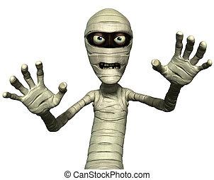 horror mummy