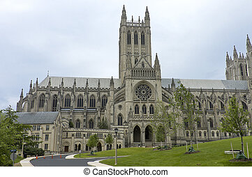 Washington National Cathedral, the sixth largest Gothic...