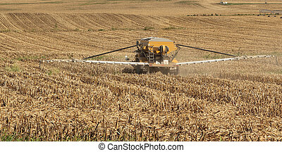 Spreading Agriculture Chemicals