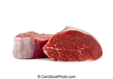 Fillet Steaks Isolated